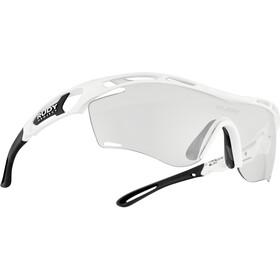 Rudy Project Tralyx Slim Okulary rowerowe, biały/czarny
